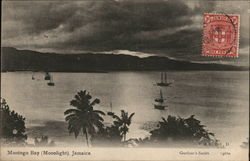 Montego Bay by Moonlight Postcard