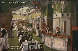The London Coliseum, One of the Tea Rooms