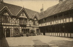 The Courtyard, Leicester Hospital, Warwick