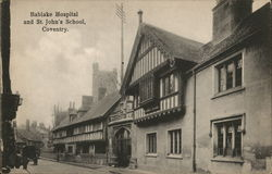 Bablake Hospital and St. John's School Postcard