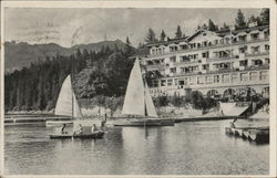 Eibsee Hotel, Operated by Recreation Center for Occupation Personnel