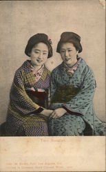 Two Beauties Postcard