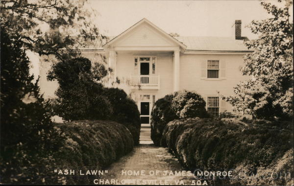 Ash Lawn Home of James Monroe Charlottesville Virginia