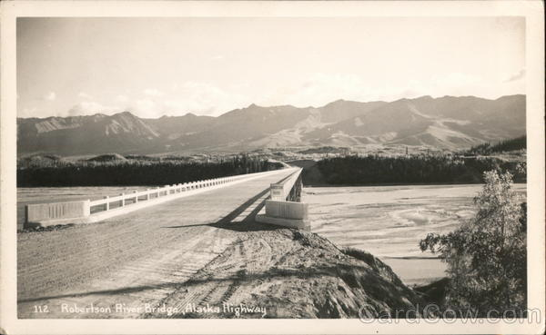 Robertson River Bridge, Alaska Highway