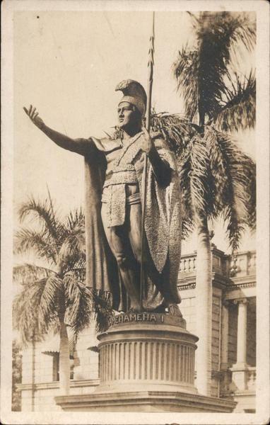 King Kamehameha Statue Honolulu Hawaii