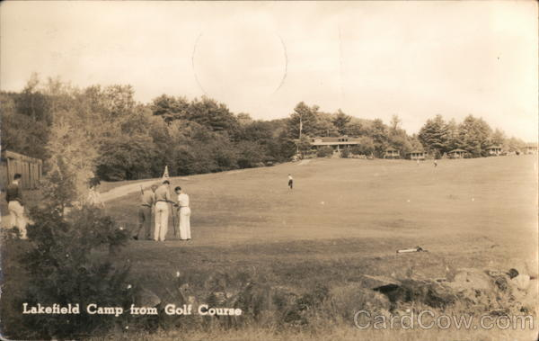 Lakefield Camp from Golf Course Canton Maine
