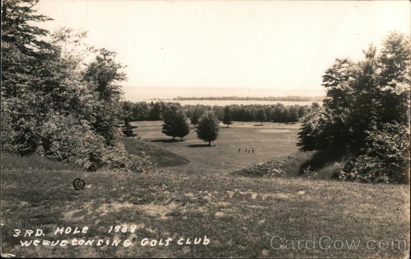 3rd Hole, Wequetonsing Golf Club Harbor Springs Michigan