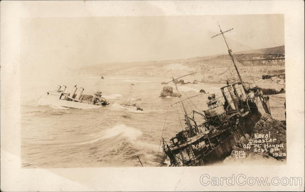 1923 Naval Disaster off Honda Point Point Arguello California