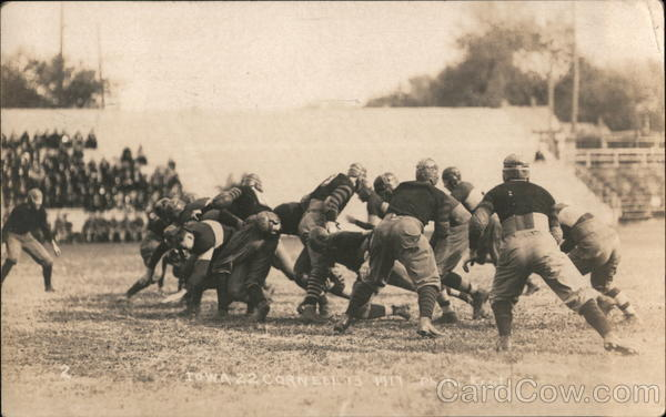 1917 Iowa/Cornell Football Game