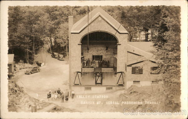 Cannon Mt. Aerial Passenger Tramway, Valley Station Franconia New Hampshire