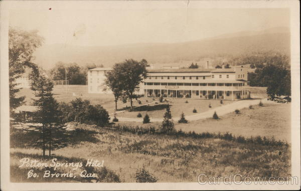 Potter Springs Hotel Brome County Quebec Canada