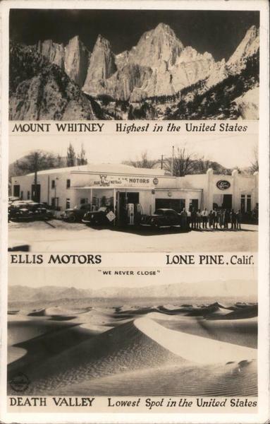Ellis Motors Lone Pine California