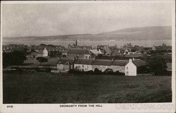 View From the Hill Cromarty Scotland
