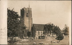 Thorpe Church Postcard