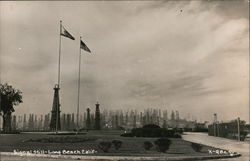 Signal Hill, Oil Wells Postcard