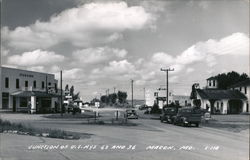 Junction of US Hwys 63 and 36 Postcard