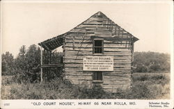 Old Court House, Hi-Way 66