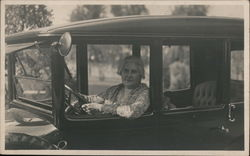 Woman (Agnes) Driving Car
