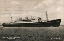 "M.S. ""Canada,"" The East Asiatic Company Ltd."
