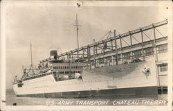 US Army Transport, Chateau Thierry