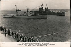The Coronation Naval Review at Spithead