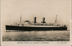 "Canadian Pacific SS ""Duchess of Richmond"""