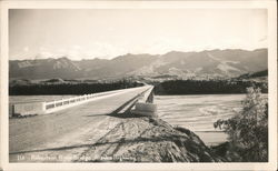 Robertson River Bridge, Alaska Highway Postcard
