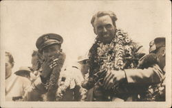 Navy Sailors, Leis, Hawaii