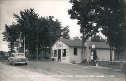 Ford's Grocery, Manistee Lake Postcard