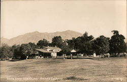 Santa Anita Golf Course Postcard