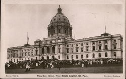 Flag Day, Minn. New State Capitol