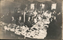 Diners on Steamer Ship
