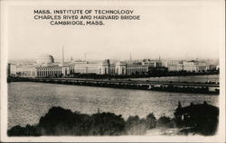 Mass Institute of Technology, Charles River, and Harvard Bridge