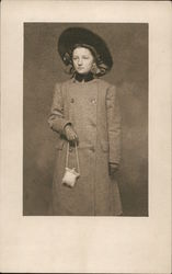 Unidentified Young Woman posing