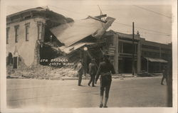 Earthquake - June 29, 1925 Postcard