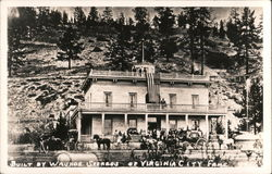 Built by Washoe Seeres of Virginia City Fame