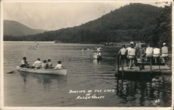Boating on the Lake, Allen Valley