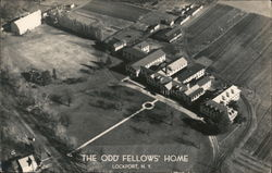 The Odd Fellows' Home Postcard