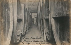 Still Wine Vault, Pleasant Valley Wine Co. Postcard
