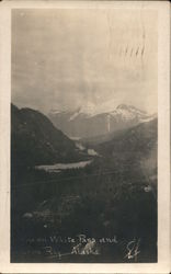 Scene on White Pass Postcard