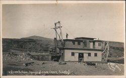 Guinan and Ames Dredge, Glacier Creek Postcard