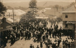Crowds at Fair - probably NY or CT