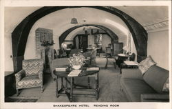 Shakespeare Hotel, Reading Room Postcard