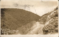 View from Harrington's Bluff, Cabot Trail Postcard