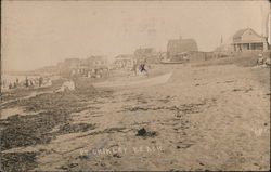 Point Shirley Beach Cottages Postcard