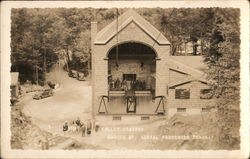 Cannon Mt. Aerial Passenger Tramway, Valley Station Postcard