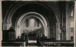 Church Interior, St. John's Postcard
