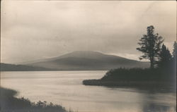 Twilight, Outlet of Kennebago Lake Postcard