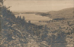Lake From South Bubble Postcard