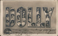 DOLLY, Faces in Letters